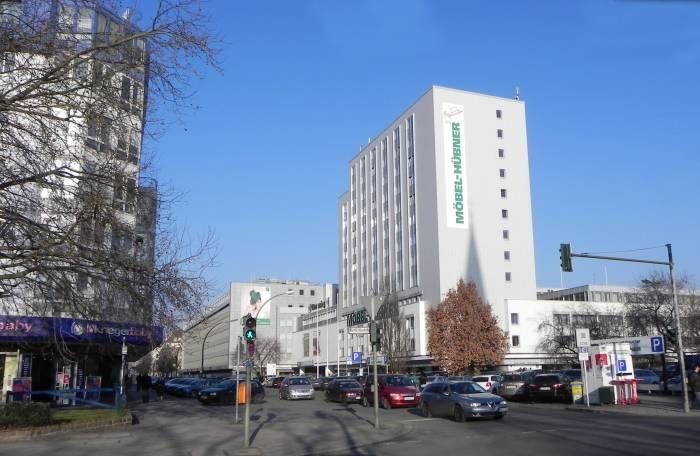 Genthiner Straße Berlin Tiergarten Möbelgeschäfte Straße Platz
