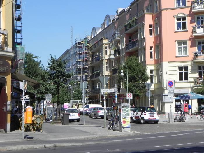Lychener Straße Berlin Prenzlauer Berg Kulturbrauerei