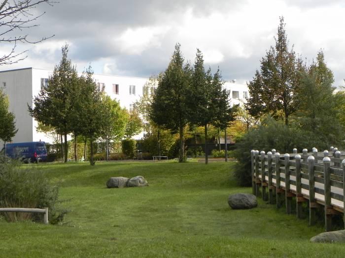 Nordpark Berlin Rudow Gartenstadt Rudow Sonnenuhr Robin Hood