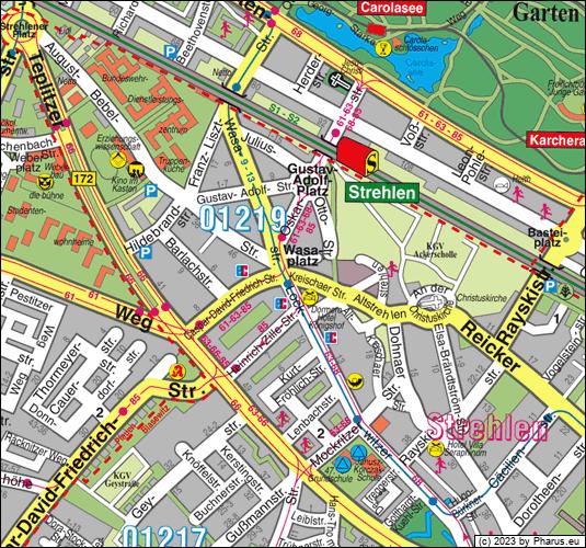 Kreischaer Straße Dresden